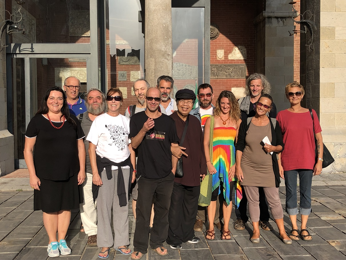 15.09.19 TQH & PARTICIPANTS OF WORKSHOP IN GENOVA ITALY